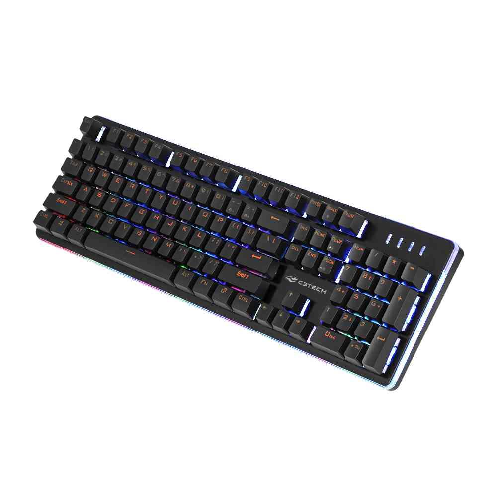 Teclado Game USB KG-300BK C3Tech