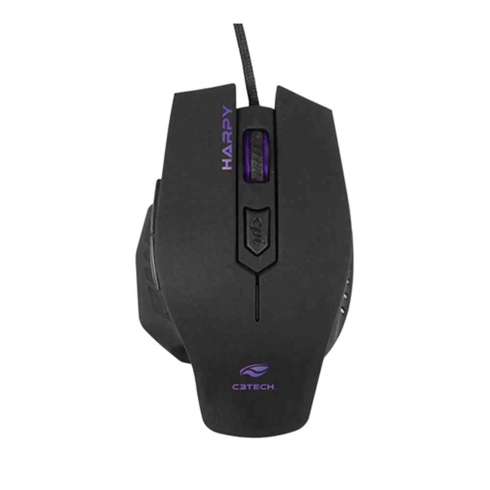 Mouse Game USB MG-100BK Harpy C3Tech
