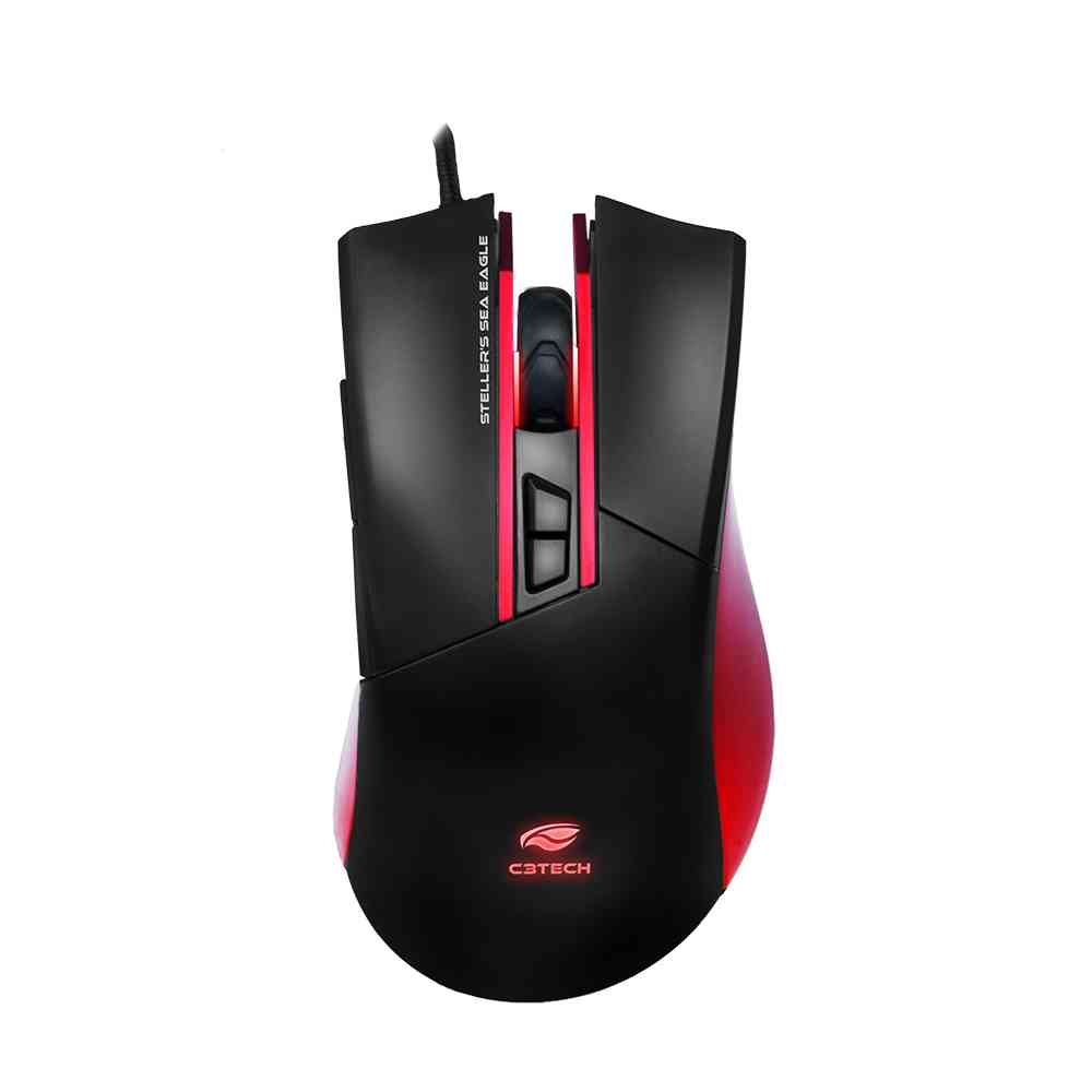 Mouse Game USB MG-200BK Stellers C3Tech