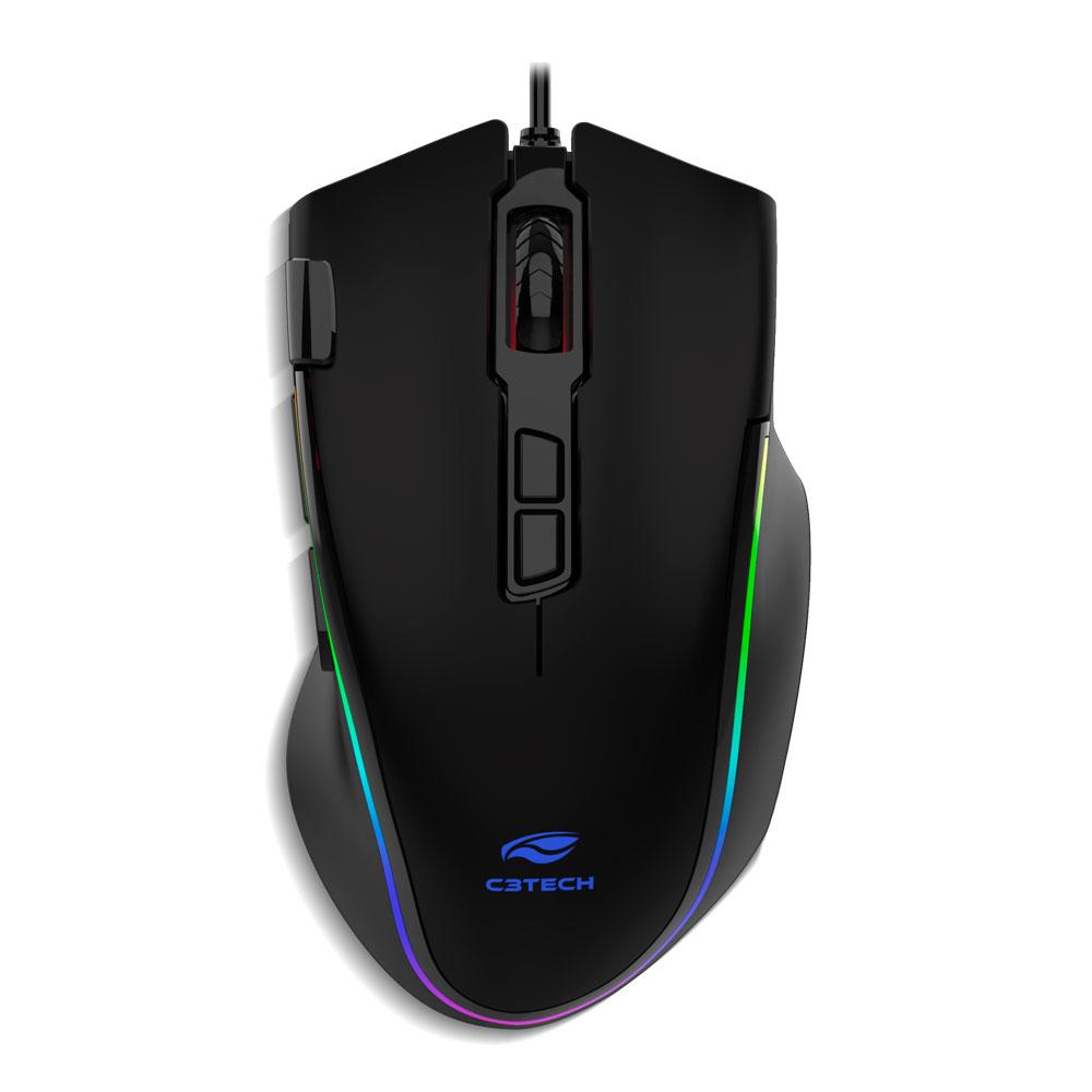 Mouse Game USB MG-520BK Fury C3Tech