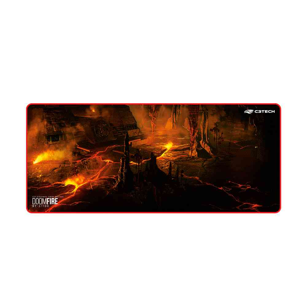 Mouse Pad Game MP-G1100 Doom Fire Speed C3Tech