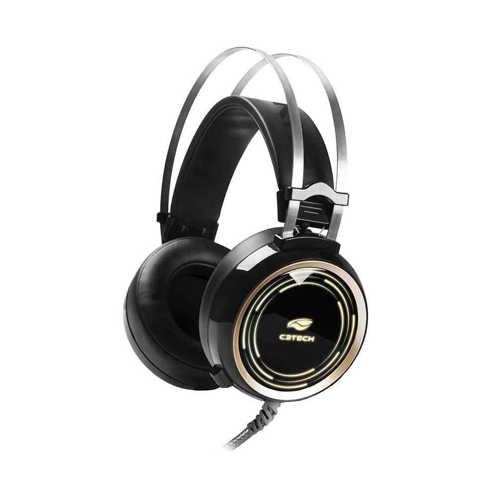 Fone Com Microfone Game Black Kite PH-G310BK C3Tech