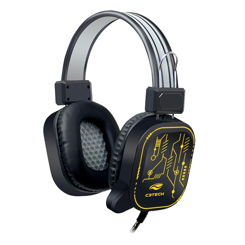 Fone Com Microfone Game USB Crane PH-G320BKV2 C3Tech