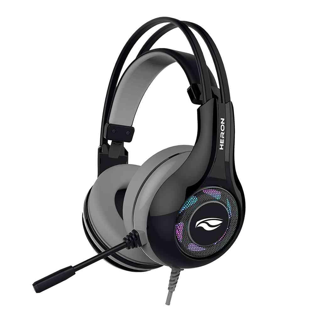 Fone USB com Microfone Gamer Heron 2 PH-G701BKV2 C3Tech