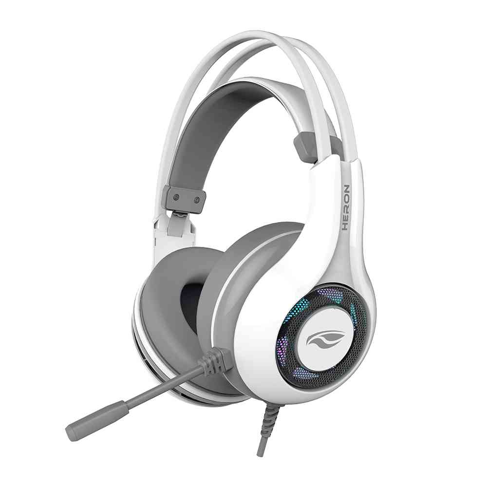 Fone USB com Microfone Gamer Heron 2 PH-G701WHV2 C3Tech