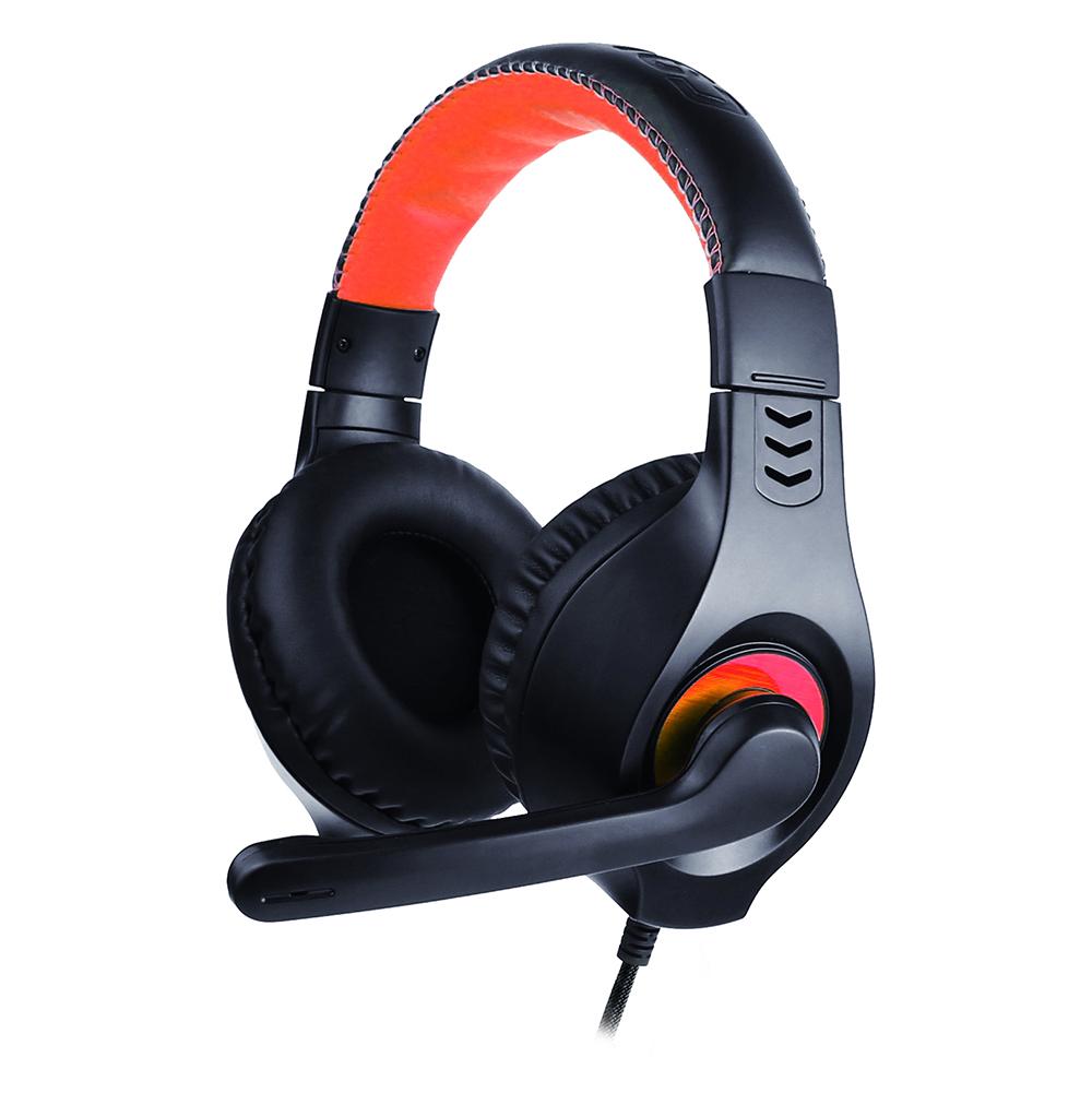 Fone Com Microfone USB PH-350BK Preto C3Tech