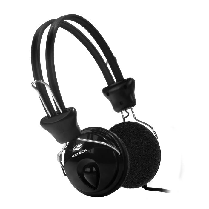 Fone Com Microfone Tricerix PH-80BK C3Tech