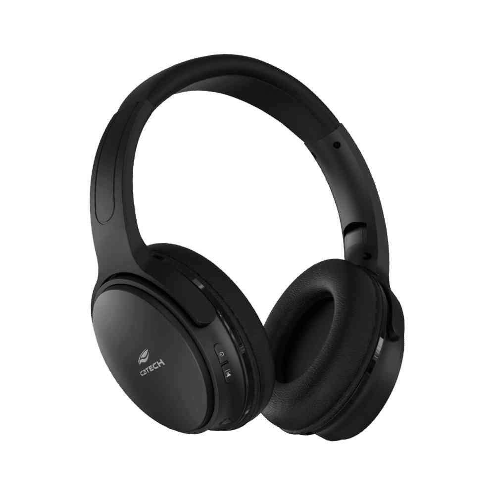 Fone Cadenza PH-B-500BK Bluetooth 5.0 Preto C3Tech