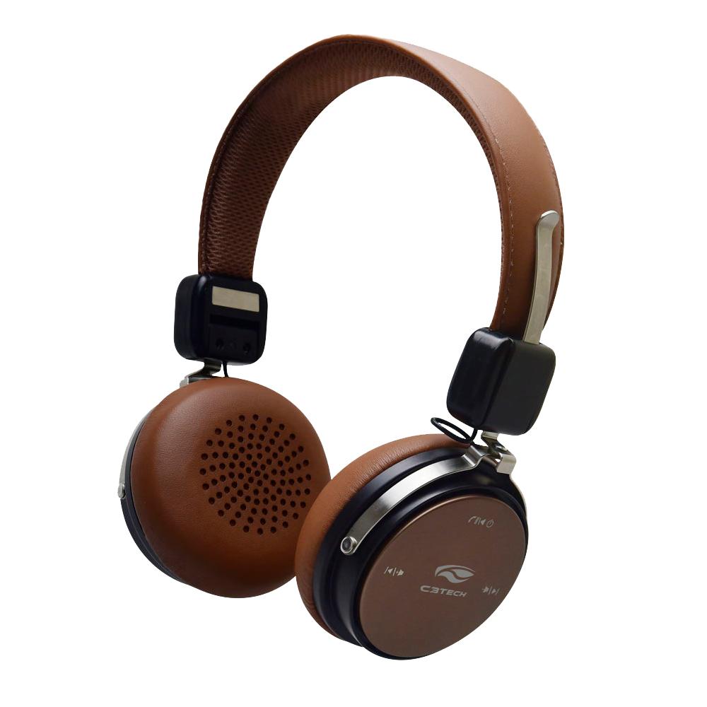 Fone PH-B600BW Bluetooth 4.2 Marrom C3Tech