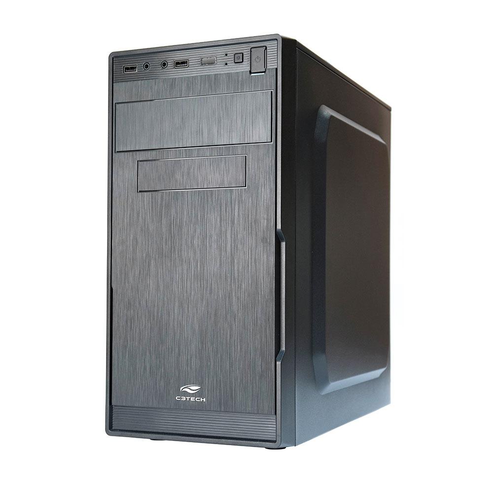 Gabinete Micro ATX MT-23V2BK Com Fonte 200W C3Plus
