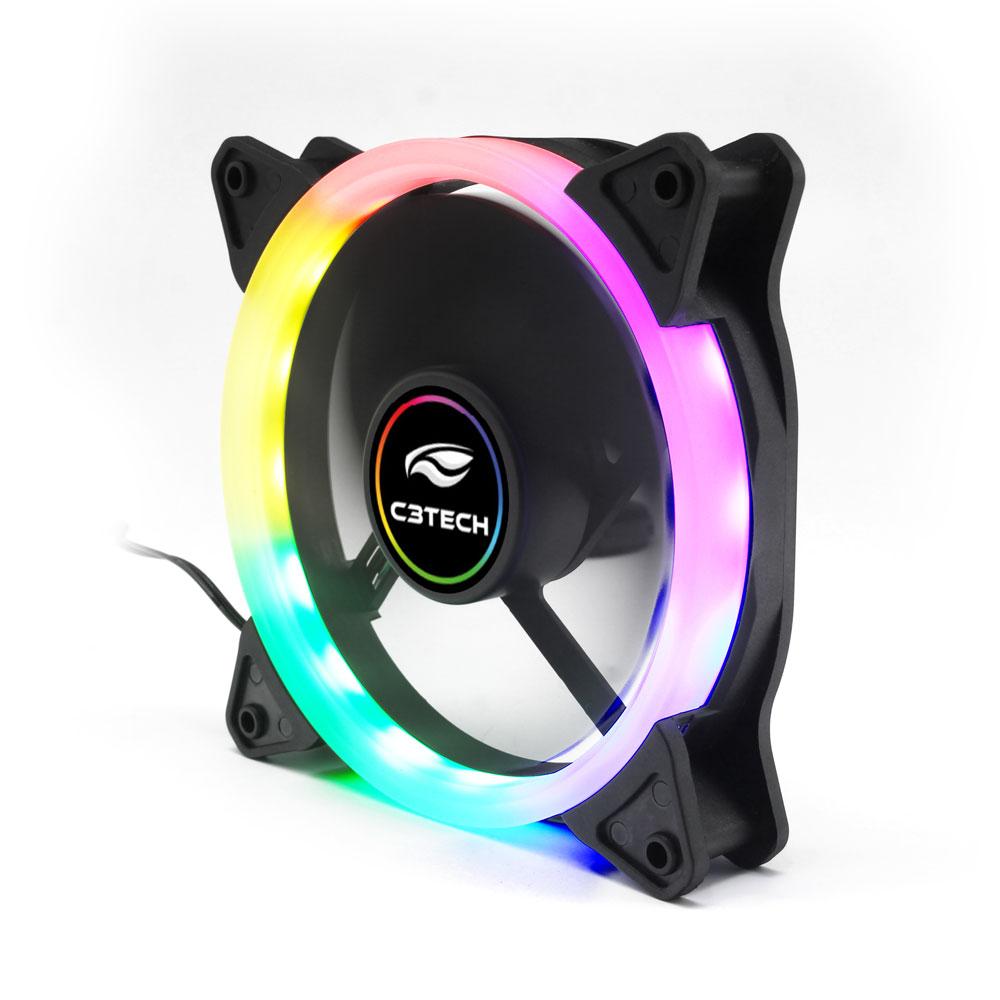 Cooler Fan F7-L200RGB 12CM C3Tech