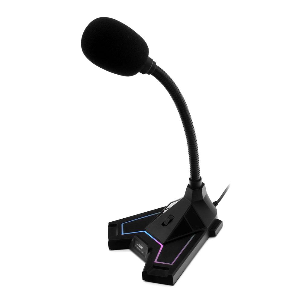 Microfone Game USB MI-G100BK C3Tech