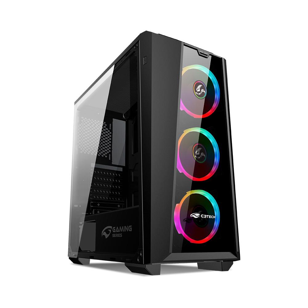 Gabinete Game MT-G800BK Sem Fonte C3Tech