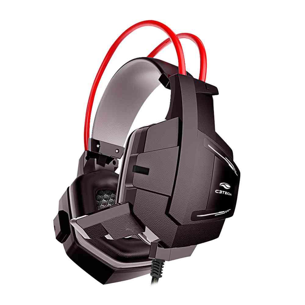 Fone com Microfone Game Sparrow PH-G11BK C3Tech