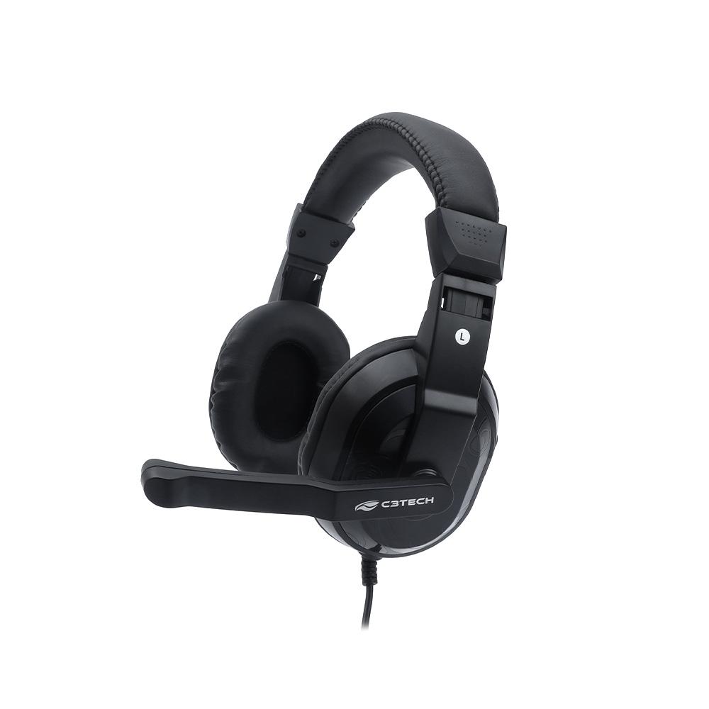 Fone com Microfone Game PH-G12BK C3Tech