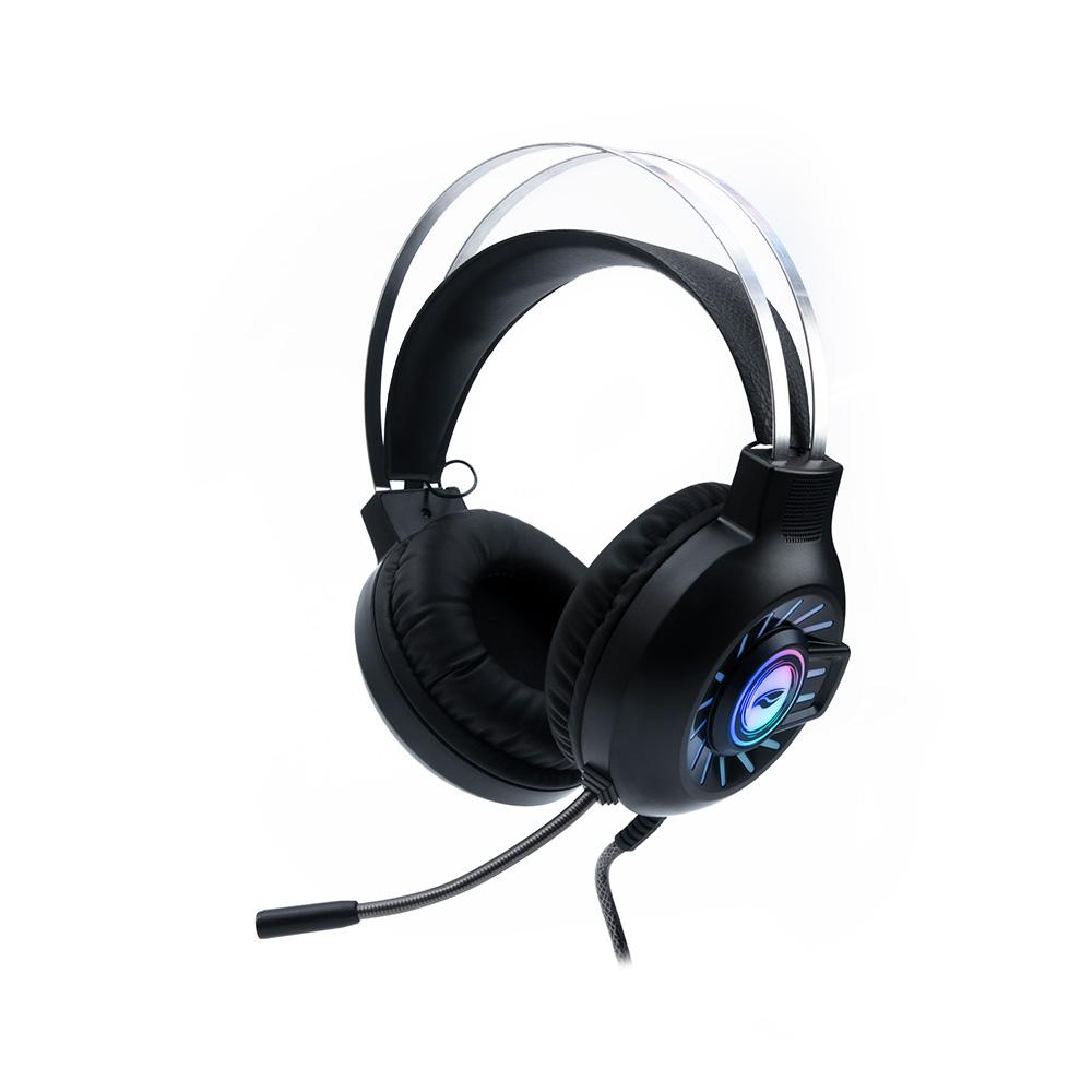Fone com Microfone Game USB Vortex PH-G340BK C3Tech