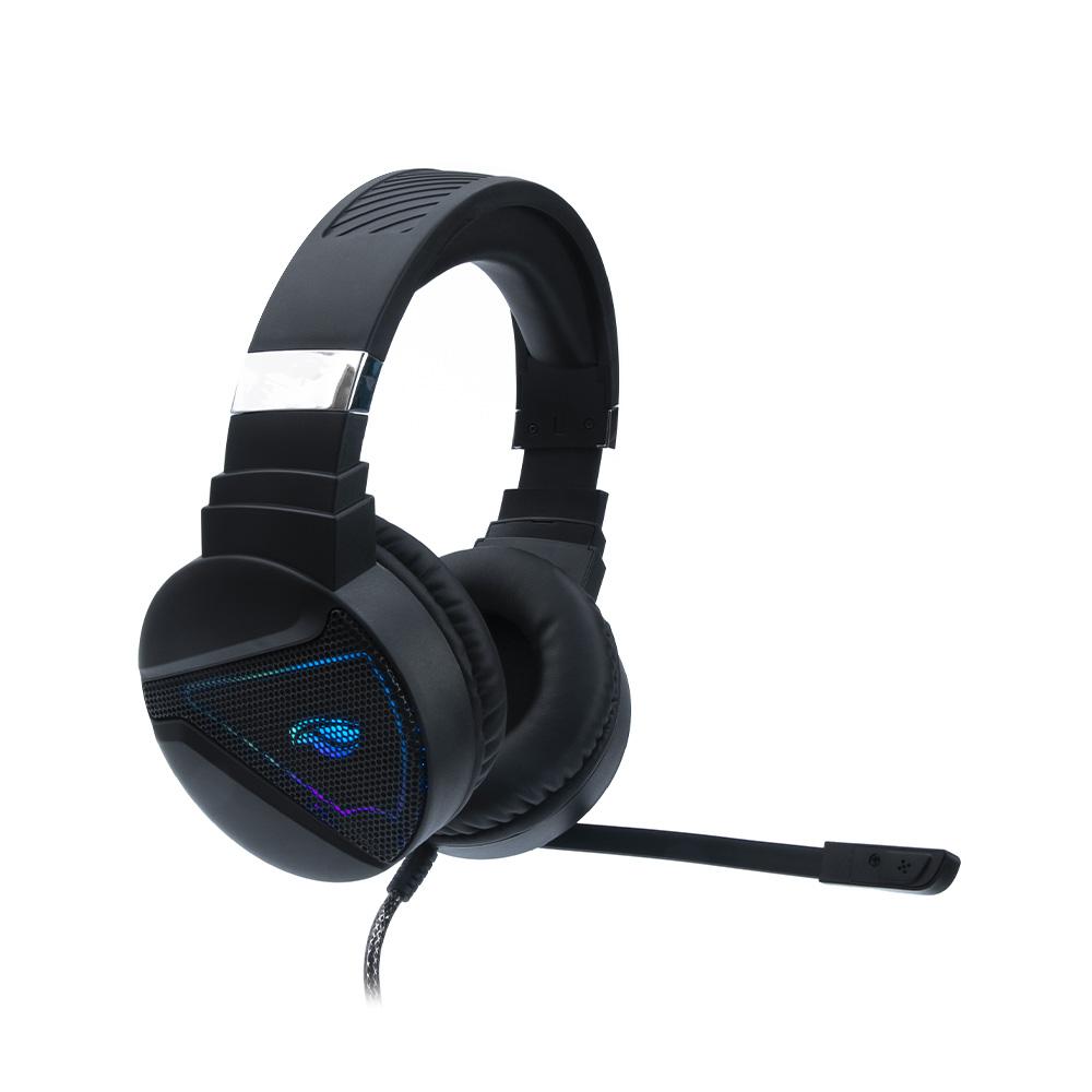 Fone Com Microfone Game USB 7.1 Hatchet PH-G730BK C3Tech