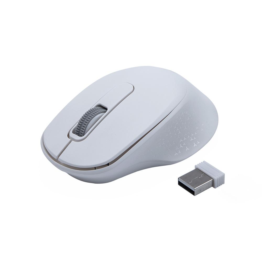 Mouse Sem Fio Dual Mode M-BT200WH Branco C3Tech