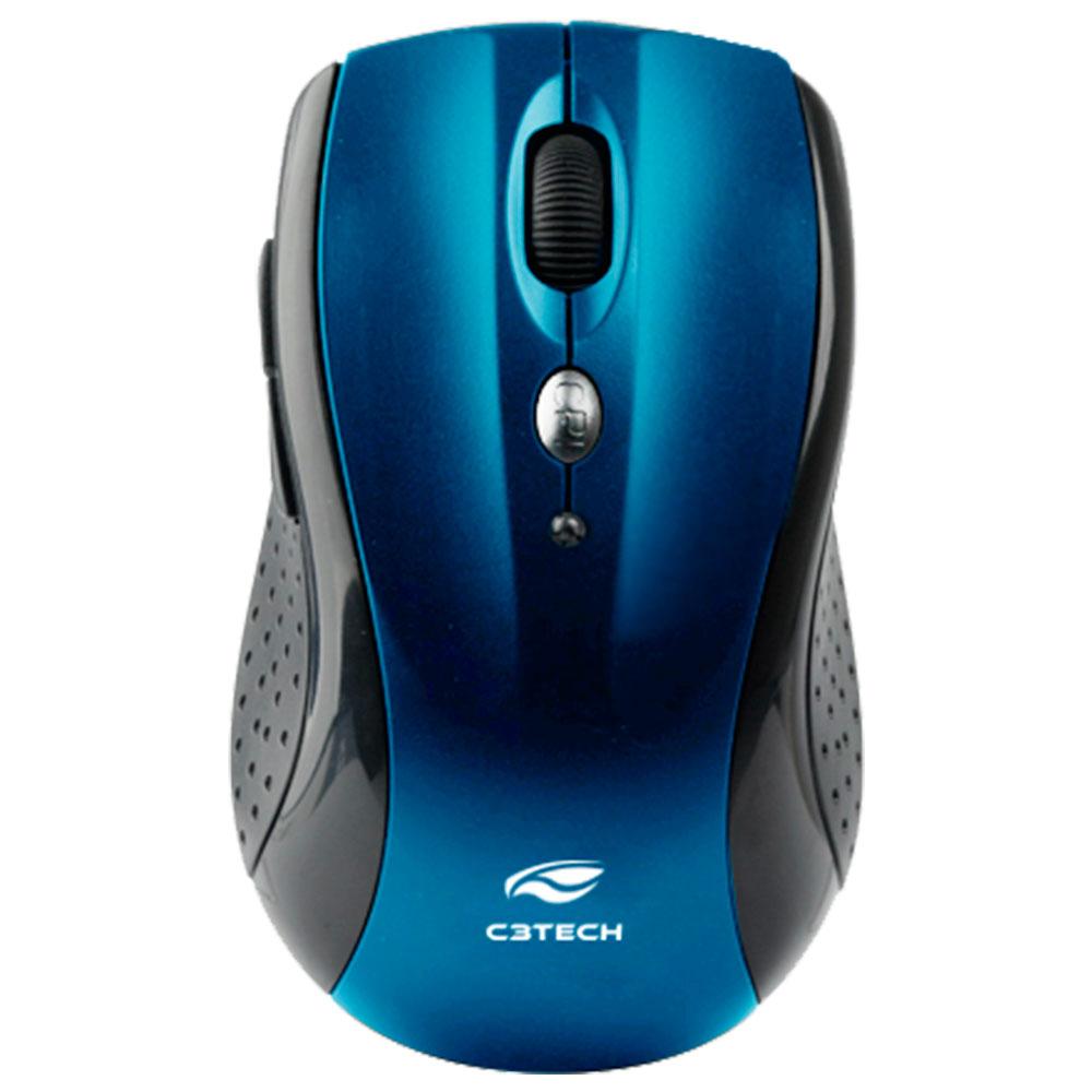 Mouse Sem Fio RC Nano M-W012BLV2 Azul C3Tech