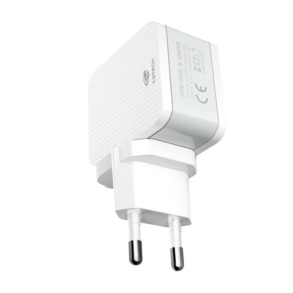 Carregador Universal AC/USB UC-215WH C3Tech