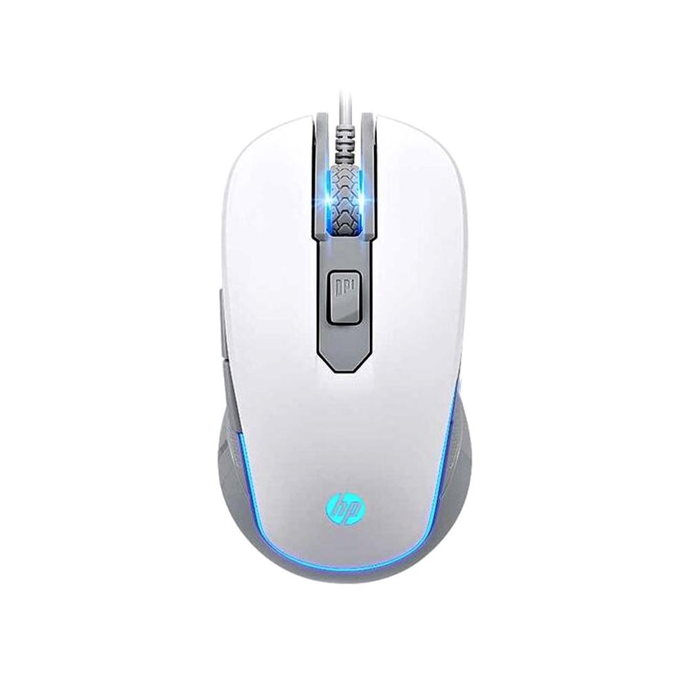 Mouse Gamer USB M200 Branco HP