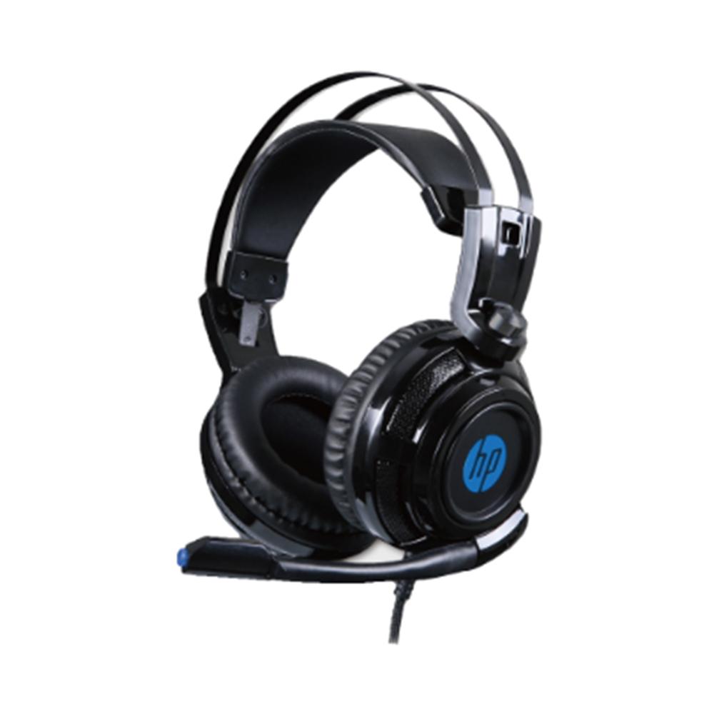 Fone Com Microfone Game 1 P2+USB H200 Preto HP
