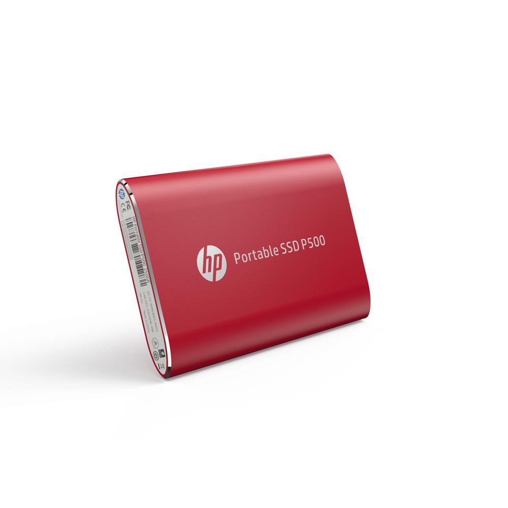 SSD Externo 120GB USB-C 3.1 P500 HP RED