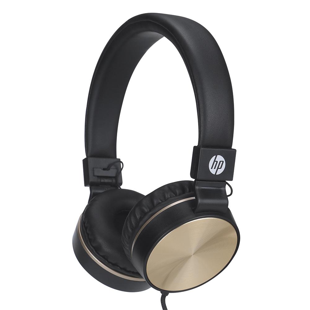 Fone Com Microfone Dobravel  DHH-1206 Preto HP