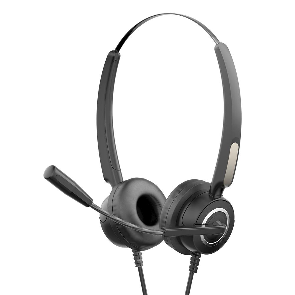 Fone Com Microfone DHE-8000 Preto HP