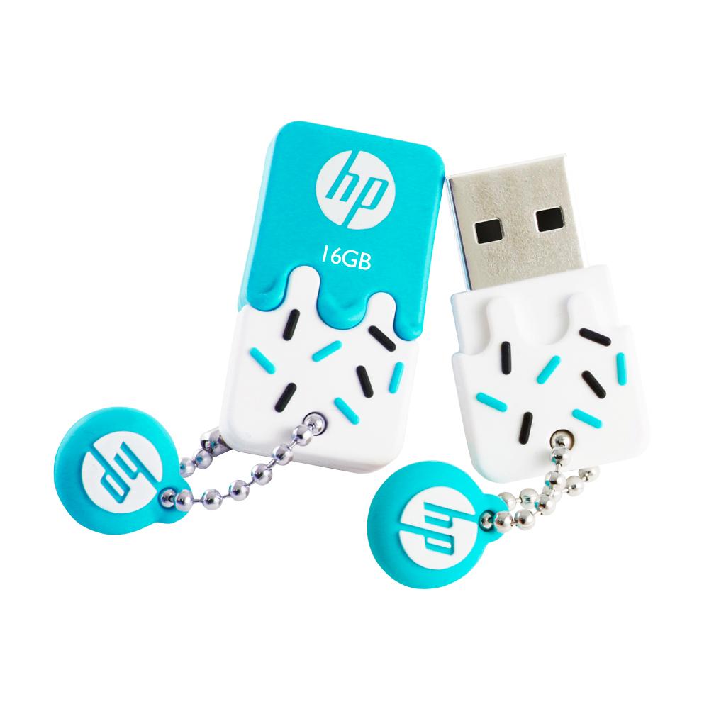 Pen Drive 16GB USB 2.0 Mini V178B Azul HP