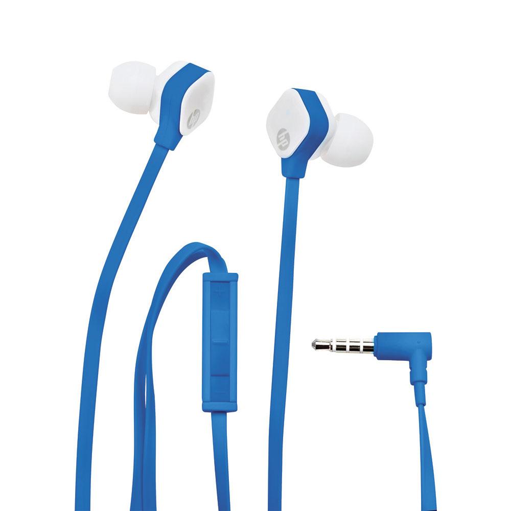 Fone de Ouvido Intra H2310 Azul/Branco HP