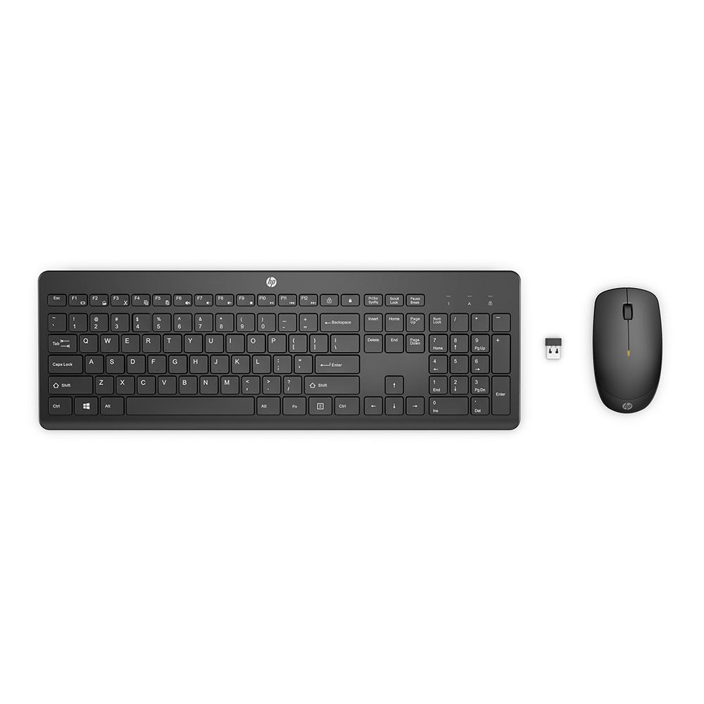 Kit Teclado + Mouse Sem Fio 230 18H24AA#AC4 HP