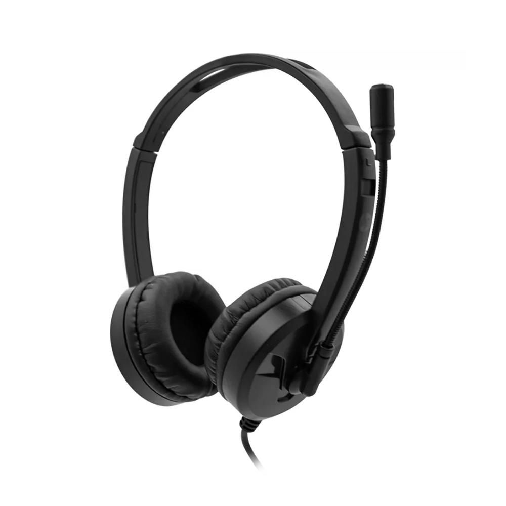 Fone com Microfone DHE-8009 Preto HP